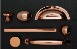 All Handles and Pulls Copper Handles on Craft Chatterbox Blog