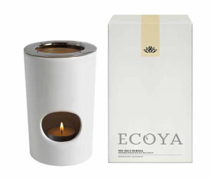 Ecoya wax melt burner from Craft Chatterbox blog
