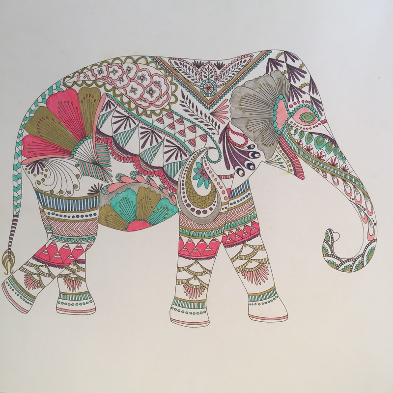 Elephant from Millie Marsotta's Animal Kingdom - Craft Chatterbox Blog