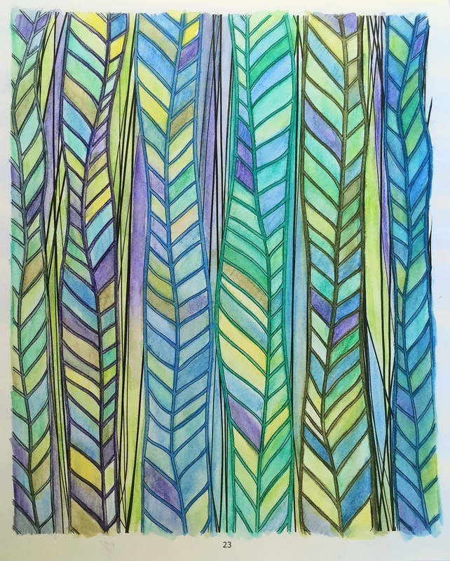 Colouring using inktense pencils- Craft Chatterbox Blog