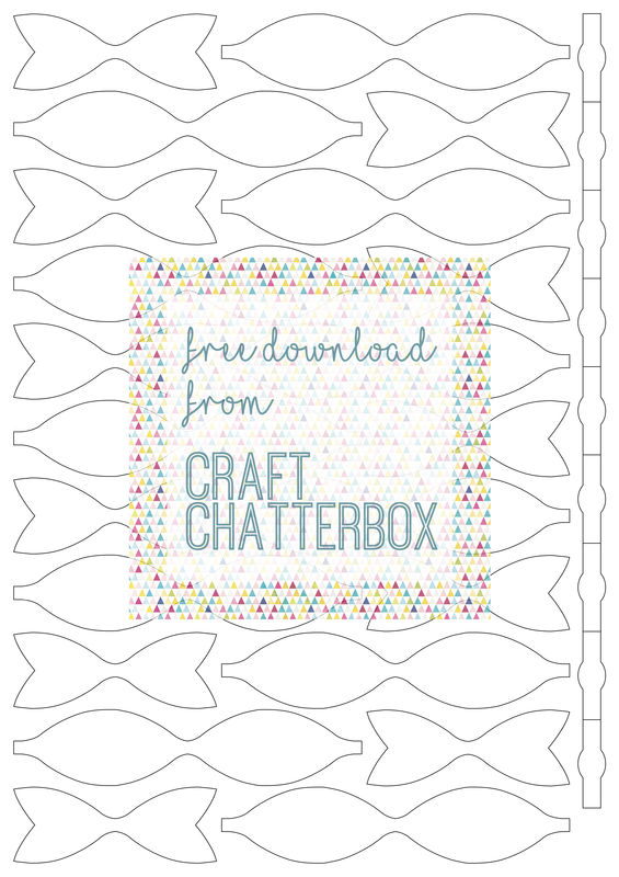 Free Silhouette cu file and pdf bow template from Craft Chatterbox Blog
